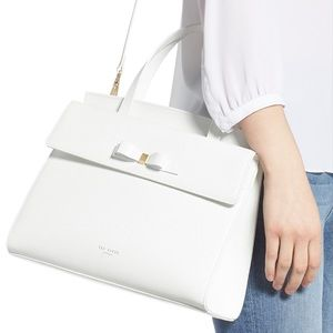 Ted Baker White Leather satchel